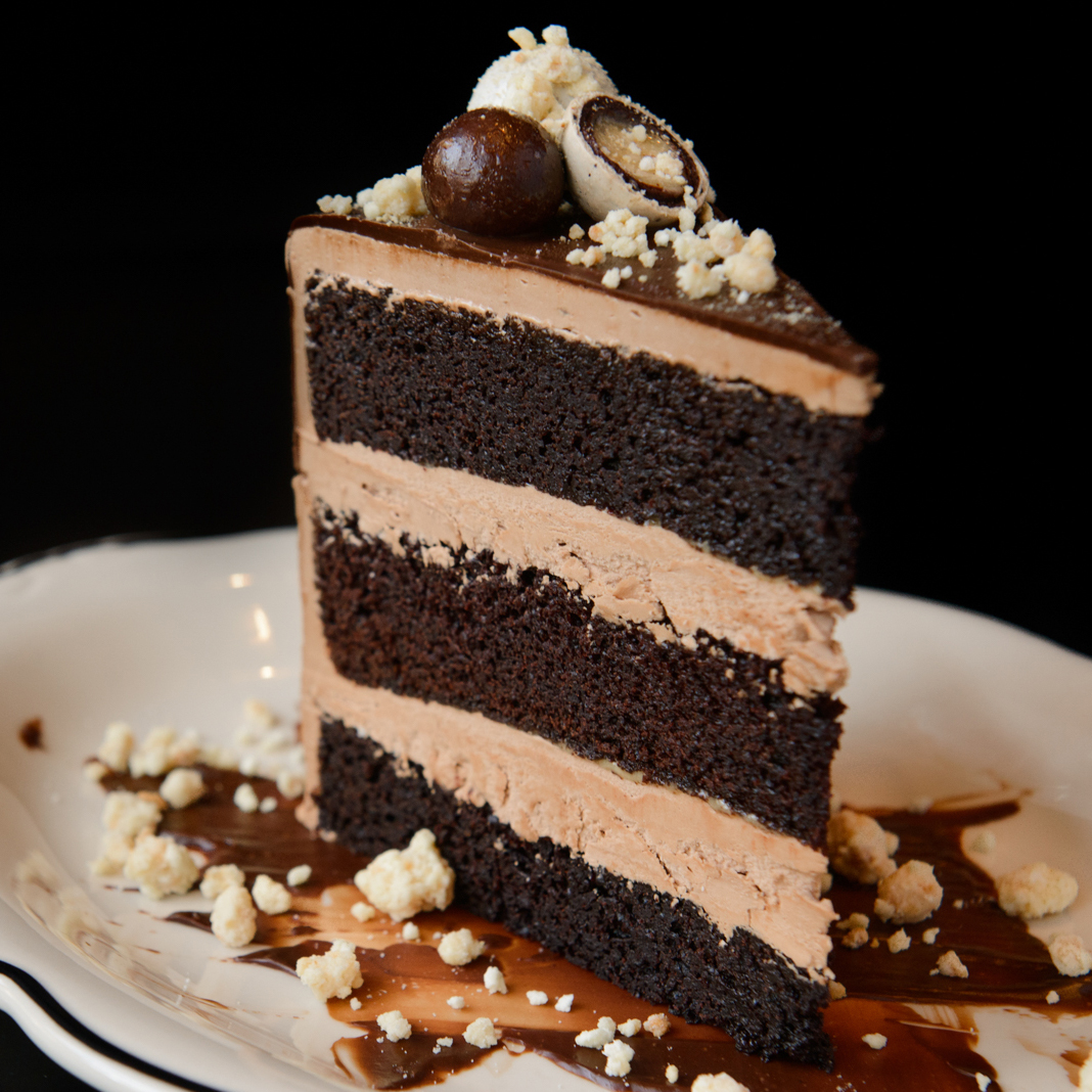 Bud & Marilyns - Chocolate Malt Ball Cake