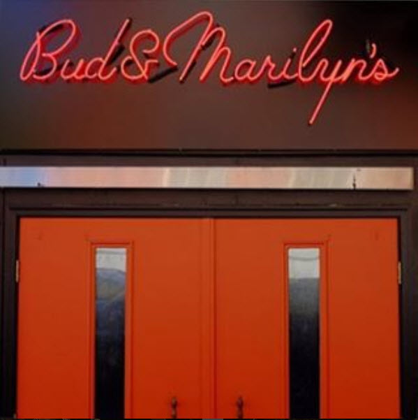 Front door of Bud and Marilyns